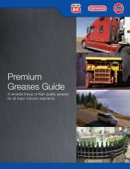 Premium Greases Guide - Phillips 66 Lubricants