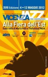 Alla Fiera dell'Est Sulle rotte di Marco Polo e ... - Vicenza Jazz