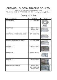 Catalog of Oil Pan for Audi & VW - ChengDu Glossy Trading Co., Ltd.