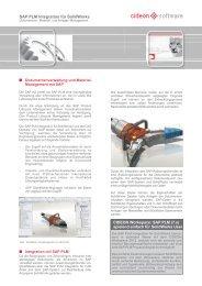SAP PLM Integration für SolidWorks - Cideon Software GmbH