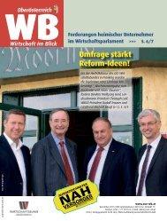 Umfrage stärkt Reform-Ideen! - Wirtschaftsbund OÖ