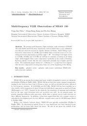 Multi-frequency VLBI Observations of NRAO 150