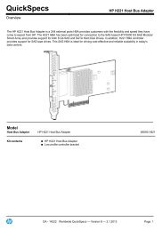 HP H221 Host Bus Adapter - eD' system Czech, as