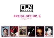 Preisliste Nr. 9 - Film Dienst