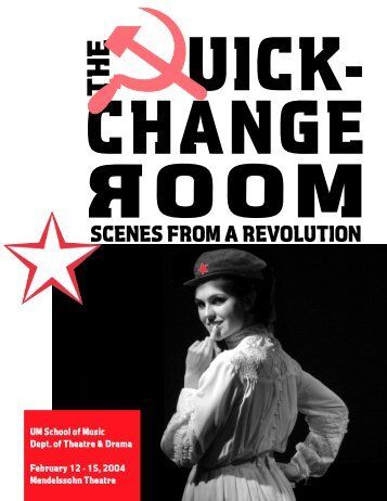 07 - quick change room prog - University of Michigan School of Music