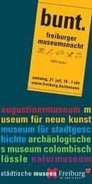 augustinermuseum m useum für neue kunst museum für stadtgesc ...
