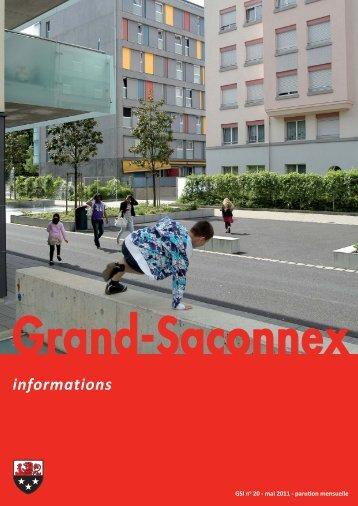 n° 20 - Grand-Saconnex informations mai 2011