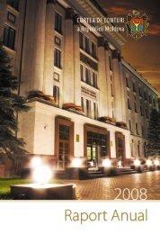 Raportul - Curtea de Conturi a Republicii Moldova