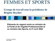 FEMMES ET SPORTS - EWS European Women and Sport