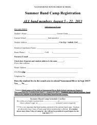 Summer Band Camp Registration 13-14 - Suffolk Public Schools Blog