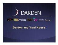 Darden and Yard House - Investors - Darden Restaurants