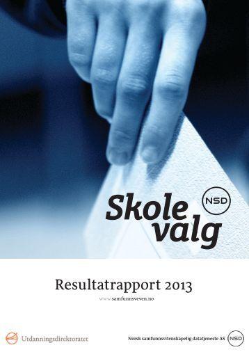 Resultatrapport 2013 - Udir.no