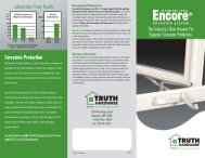 Encore Stainless Steel Operators - Truth Hardware