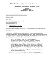 Draft Remedial Investigation Report, LEHR/SCDS Environmental ...