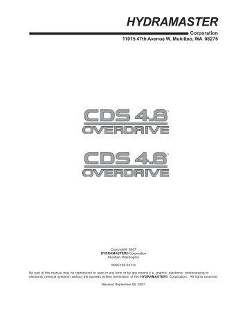 Clutch Drive System - HydraMaster