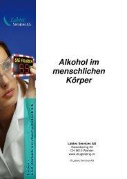Alkohol im menschlichen Körper - Labtec Services