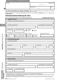 Einkommensteuererklärung 2011 - Formulare - Bundesministerium ...