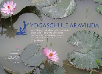 WAS IST YOGA? - yogaschule aravinda