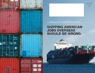 Shipping AmericAn jobS overSeAS Should be wrong.
