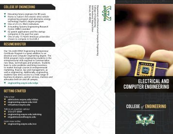 Electrical and computer engineering - College of Engineering