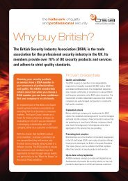 Why buy British? - British Security Industry Association