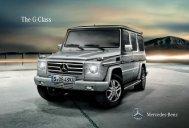 The G-Class - Mercedes-Benz