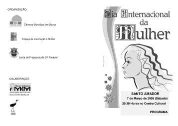Programa para a Freguesia de Santo Amador - Beja Digital