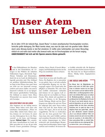 Unser Atem ist unser Leben - atem austria