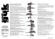 Programm 2012/2013 als PDF Download - gestalt und guk kunst ...