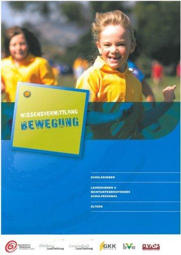 Wissensvermittlung - Bewegung - Gesunde Schule
