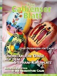UNERKLÄRLICHE DINGE AUF DEM STEPHANI-KIRCHPLATZ