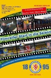 Heft 02: Fuerth / Wehen - FanPresse Braunschweig