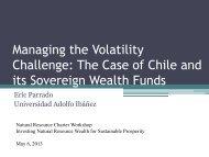 Eric Parrado - Managing the Volatility Challenge - Natural Resource ...