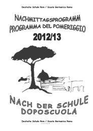 2. 2. musik / musica - Deutsche Schule Rom