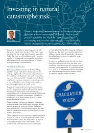 Investing in natural catastrophe risk - Man Investments Australia