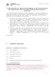 11 04 04 Teil A Studienordnung i F v 15 06 2010 ... - FHöV NRW