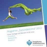 Programm - Evangelisches Krankenhaus Unna