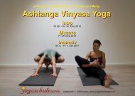 Intro - Ashtanga Vinyasa Yoga mit Marija & Christian