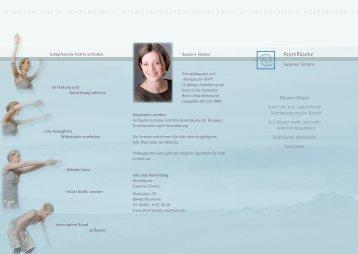AtemRäume - Susanne Simons