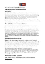 Stadtgemeinde Zwettl - Petra Tischler Public Relations