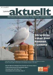 Lomma Aktuellt 2-2013.pdf - Lomma kommun