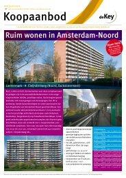 Ruim wonen in Amsterdam-Noord - Woonstichting De Key