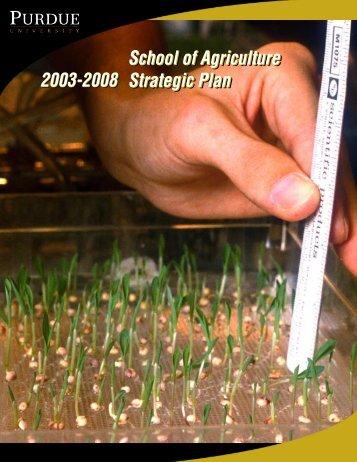 Strategic_Plan_2003 - Purdue Agriculture - Purdue University