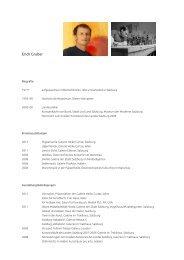 Biografie zum Download (PDF|720 KB) - Erich Gruber