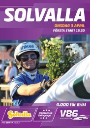 3 april - Solvalla