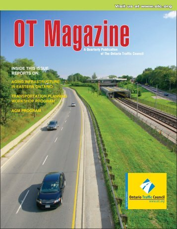 Spring Issue - Ontario Traffic Conference