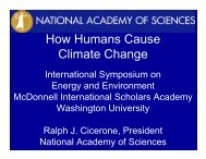 How Humans Cause Climate Change