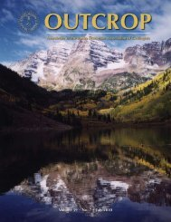July 2010 - Rocky Mountain Association of Geologists