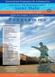 Saint-Malo Programme - Alpha Visa Congrès