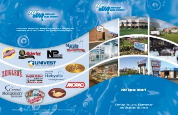 2007 Annual Report - North Penn Water Authority